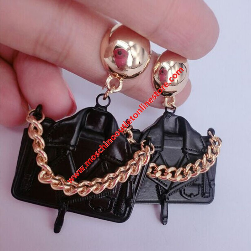Moschino Jacket Women Earrings Black