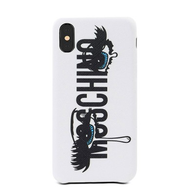 Moschino Crying Eyes iPhone Case White