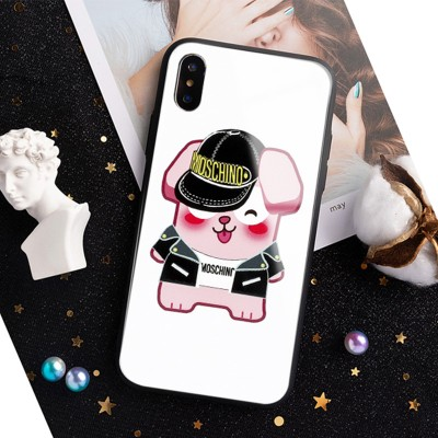 Moschino x The Sims Freezer Bunny iPhone Case White
