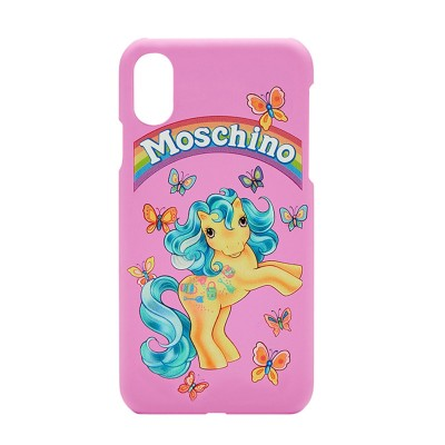 Moschino My Little Pony iPhone Case Pink